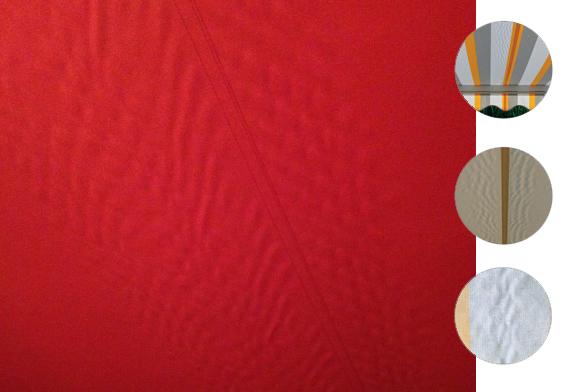 Awning fabric characteristics