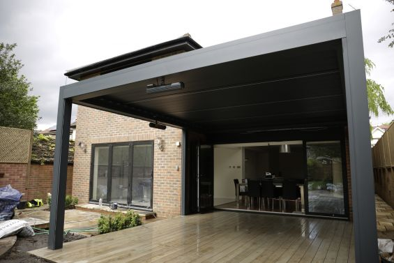 Caribbean Blinds, Louvered Roof, Pergola, Outdoor Living Pod