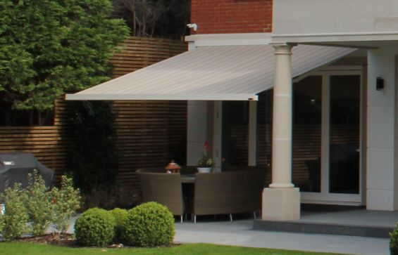 Rustic Patio Awning