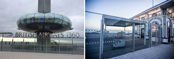 Outdoor Living Pod on Seafront, British Airways i360 Brighton