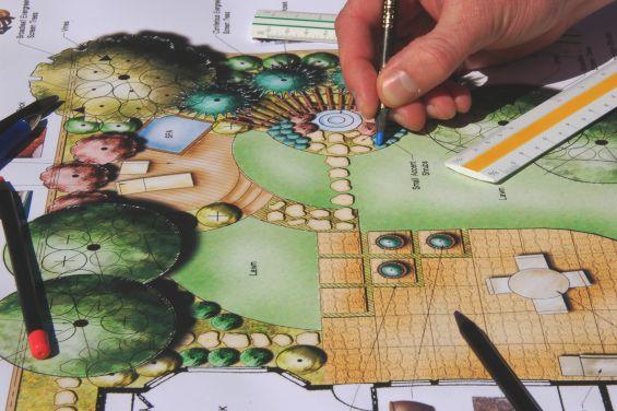 Landscape Gardening, Garden Design, Plans