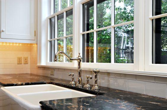 Kitchen, Double Glazed Window, Window, Energy Saving