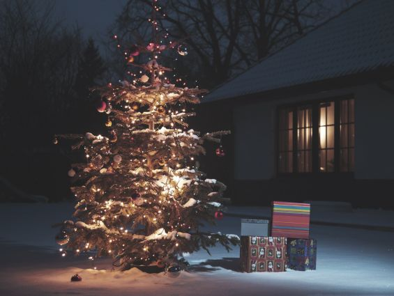 Christmas, Christmas Tree, Decorations, Presents