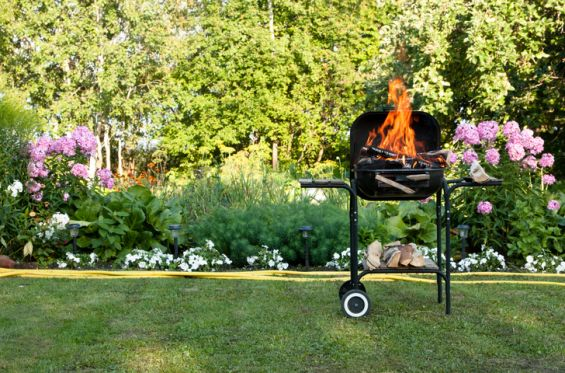 BBQ, Outdoor Living, Burgers, Meat, Charcoal