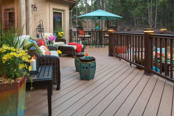 Decking, Wood, Composite, Garden, Patio