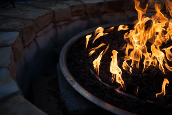 Fire, Pit, Outdoors, Warm, Fire Pit