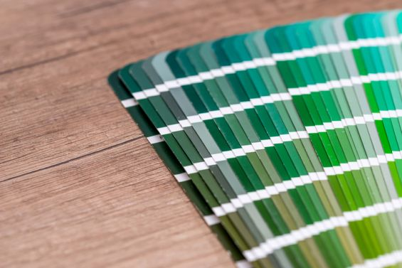 Pantone, Greenery, Colour, Swatch, Green