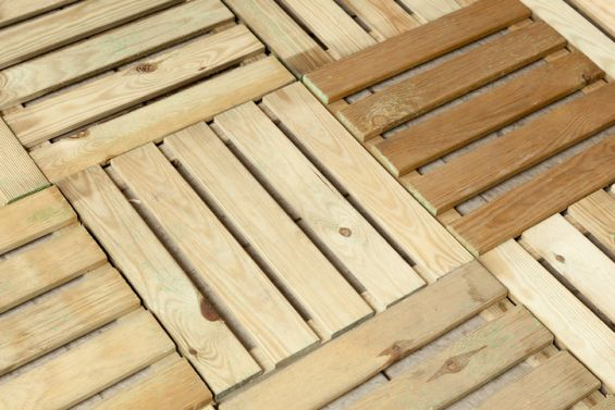 Decking, Wood, Composite