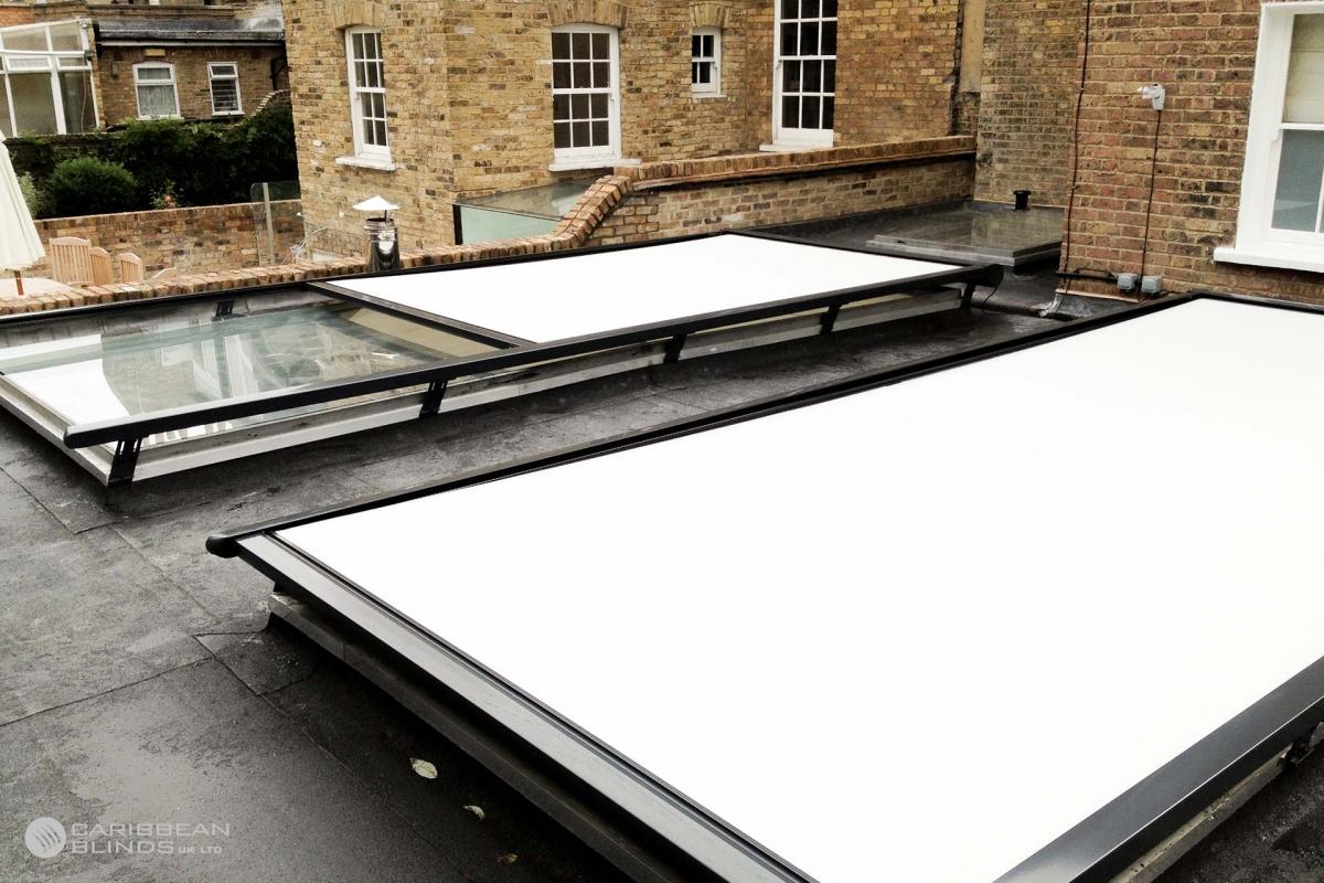 10 - Caribbean Blinds - Cayman External Roof Blind - Rooflights - Battersea