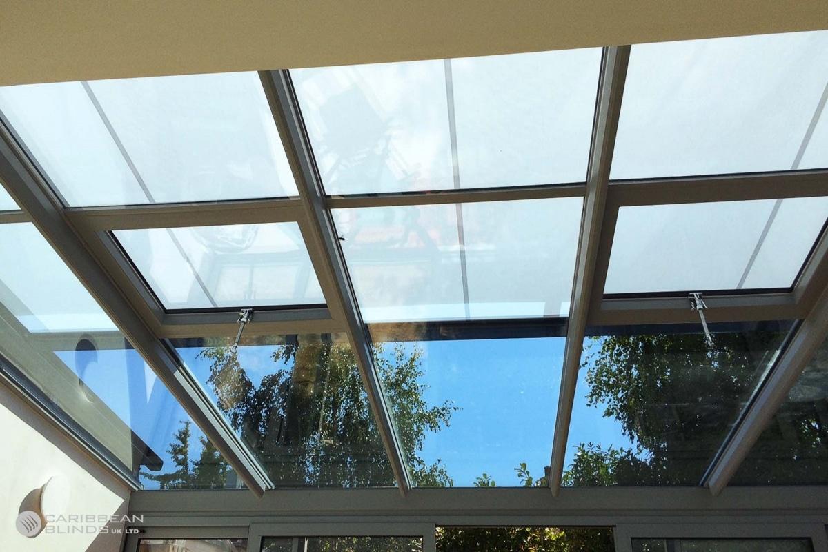 11 - Caribbean Blinds - Cayman External Roof Blind - Conservatory - Cambridge