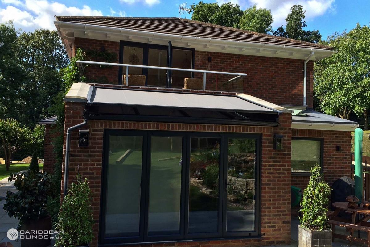 12 - Caribbean Blinds - Cayman External Roof Blind - Conservatory - Caterham