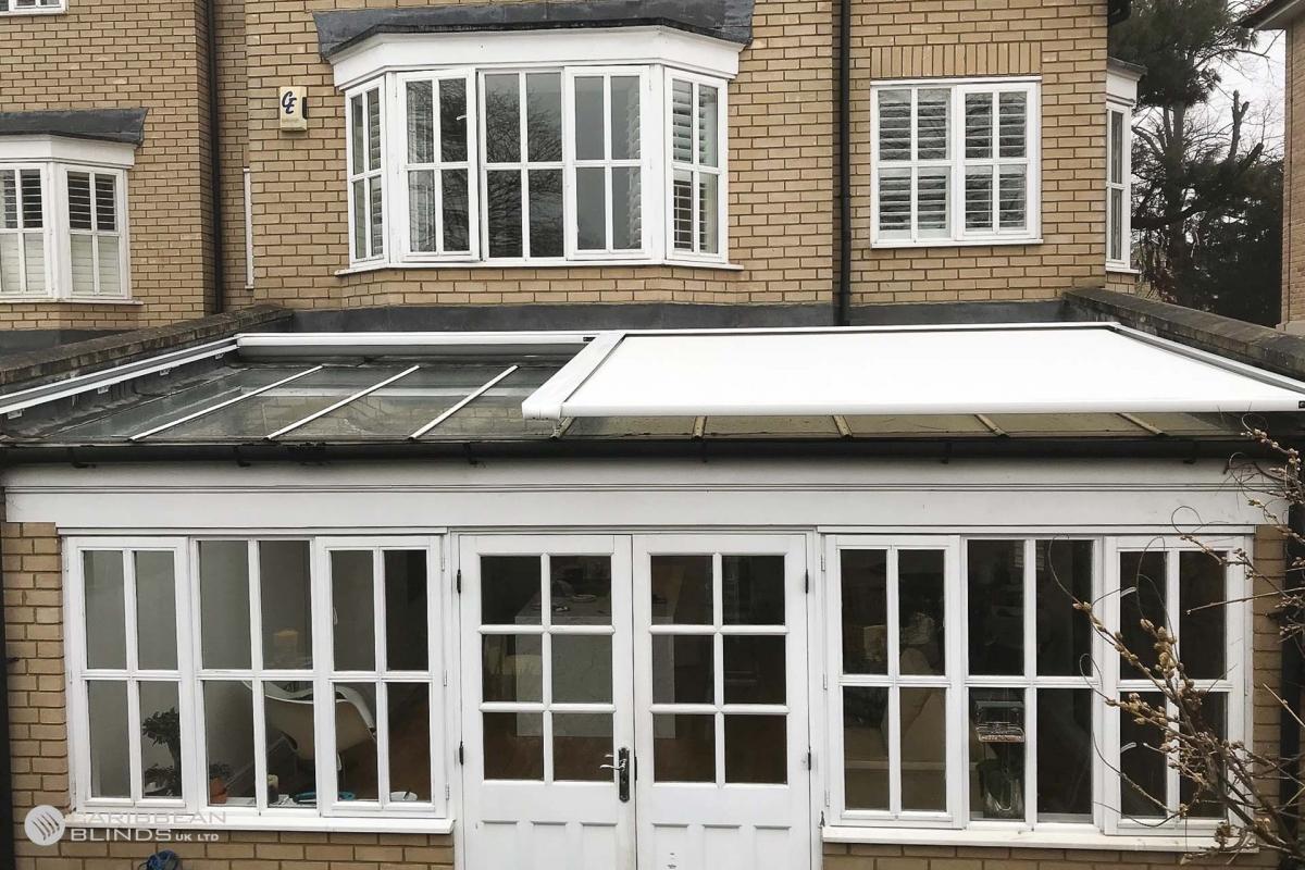 16 - Caribbean Blinds - Cayman External Roof Blind - Conservatory - Chelmsford