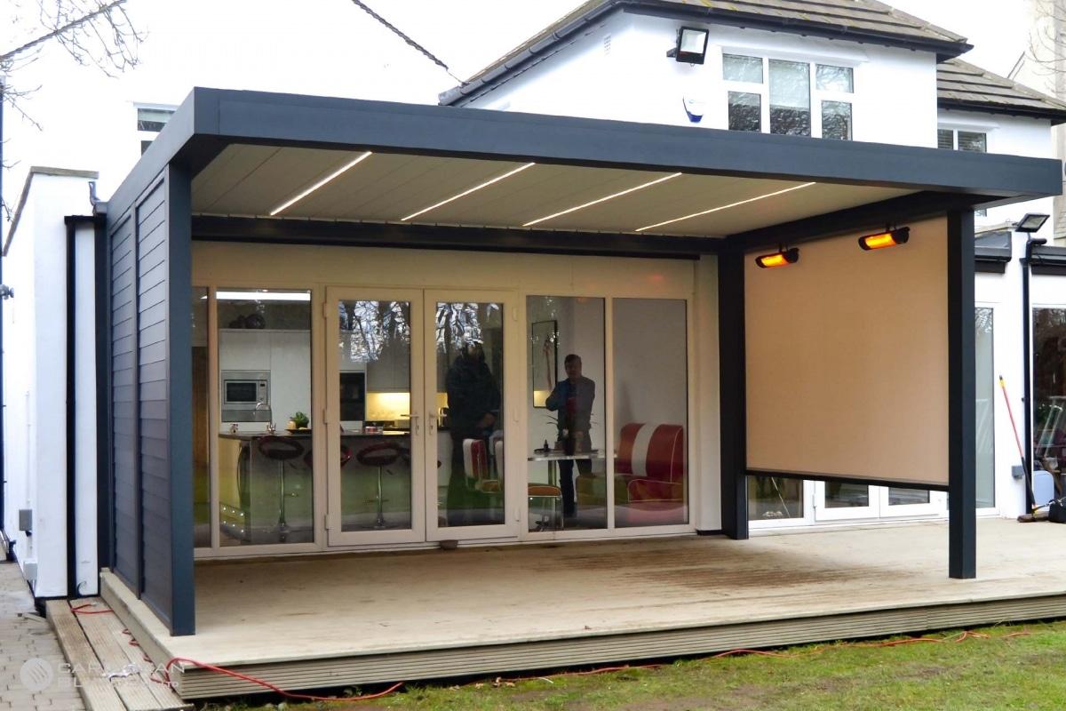17 - Caribbean Blinds - Deluxe Outdoor Living Pod - Freestanding - Leeds