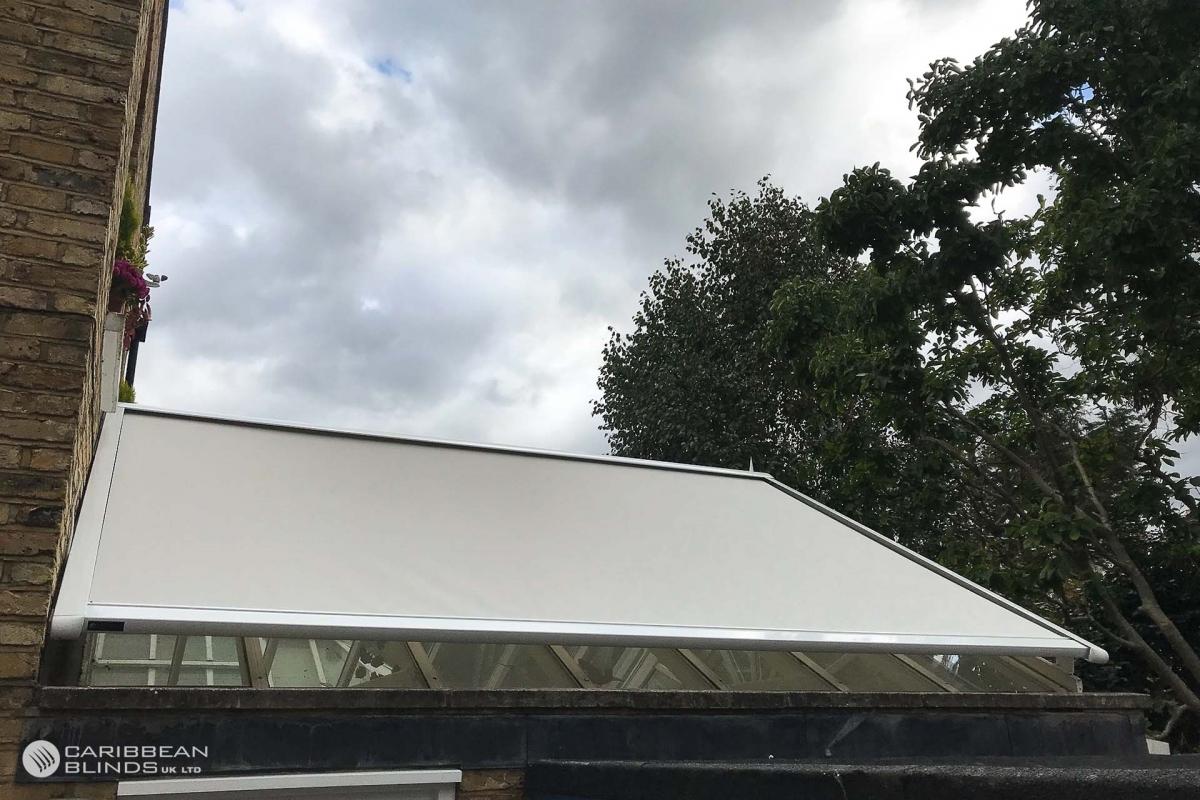 44 - Caribbean Blinds - Cayman External Roof Blind - Conservatory - Richmond