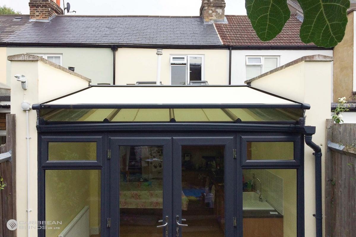 54 - Caribbean Blinds - Cayman External Roof Blind - Conservatory - Twickenham