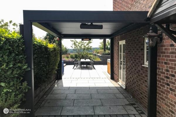 62 – Caribbean Blinds – Deluxe Outdoor Living Pod – Freestanding – Bothamsall