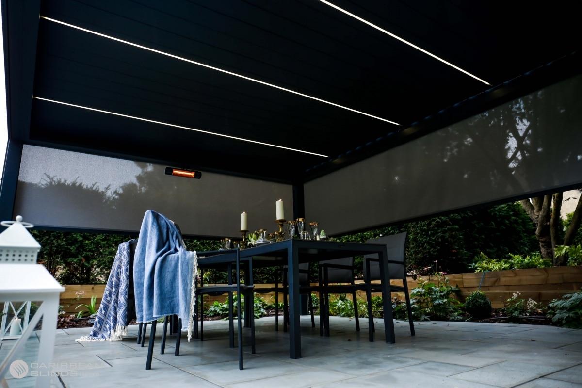 Outdoor Living Pod   Alfresco   Pergola   Canopy   Christmas