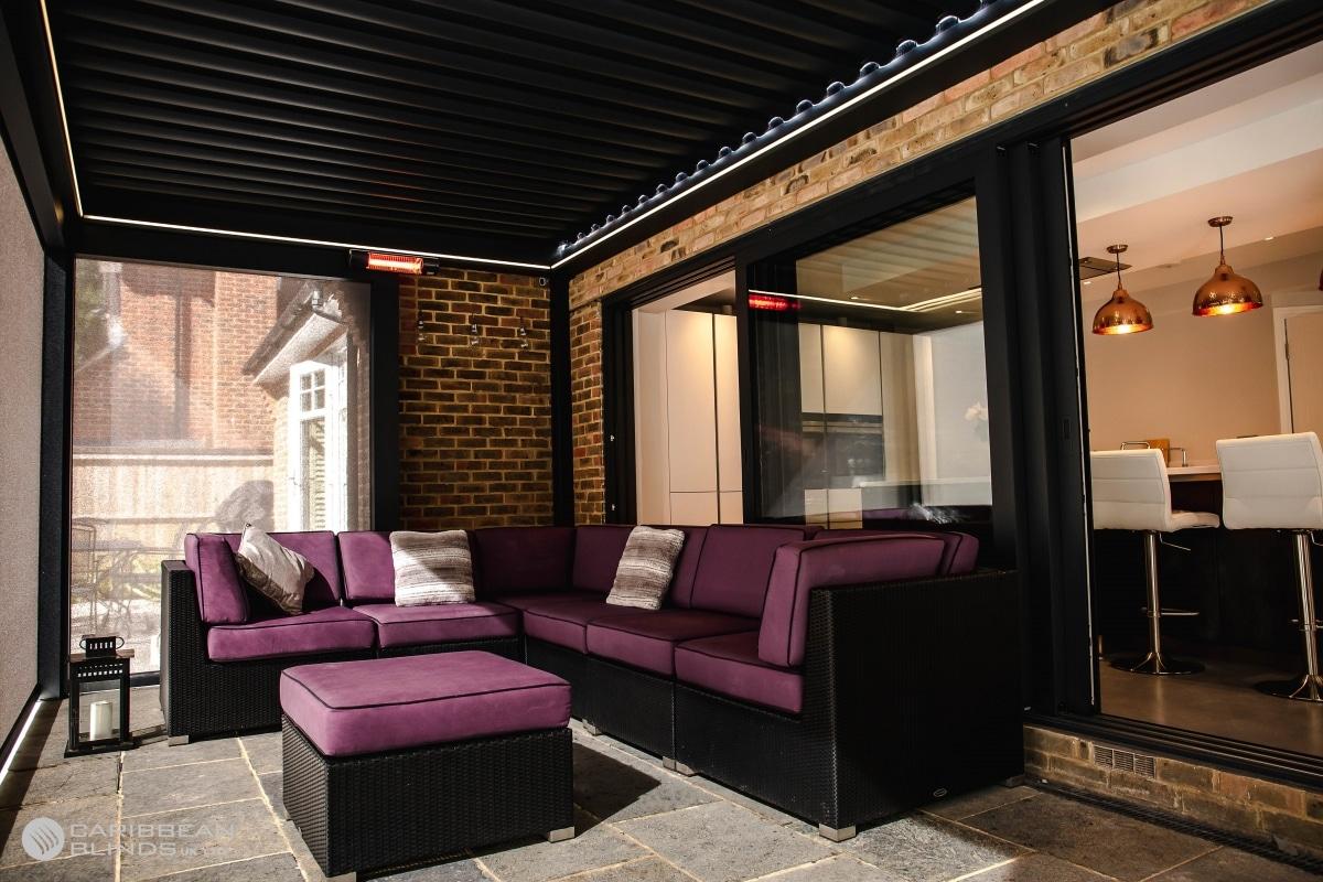 Outdoor Living Pod   Pergola   Sliding Doors   Outdoor Living   Patio Terrace