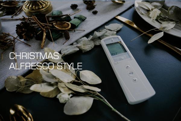 Christmas | Alfresco | Outdoor Living Pod | Pergola