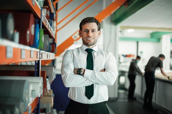 Stuart Dantzic   Managing Director   Fabric Stand   Factory