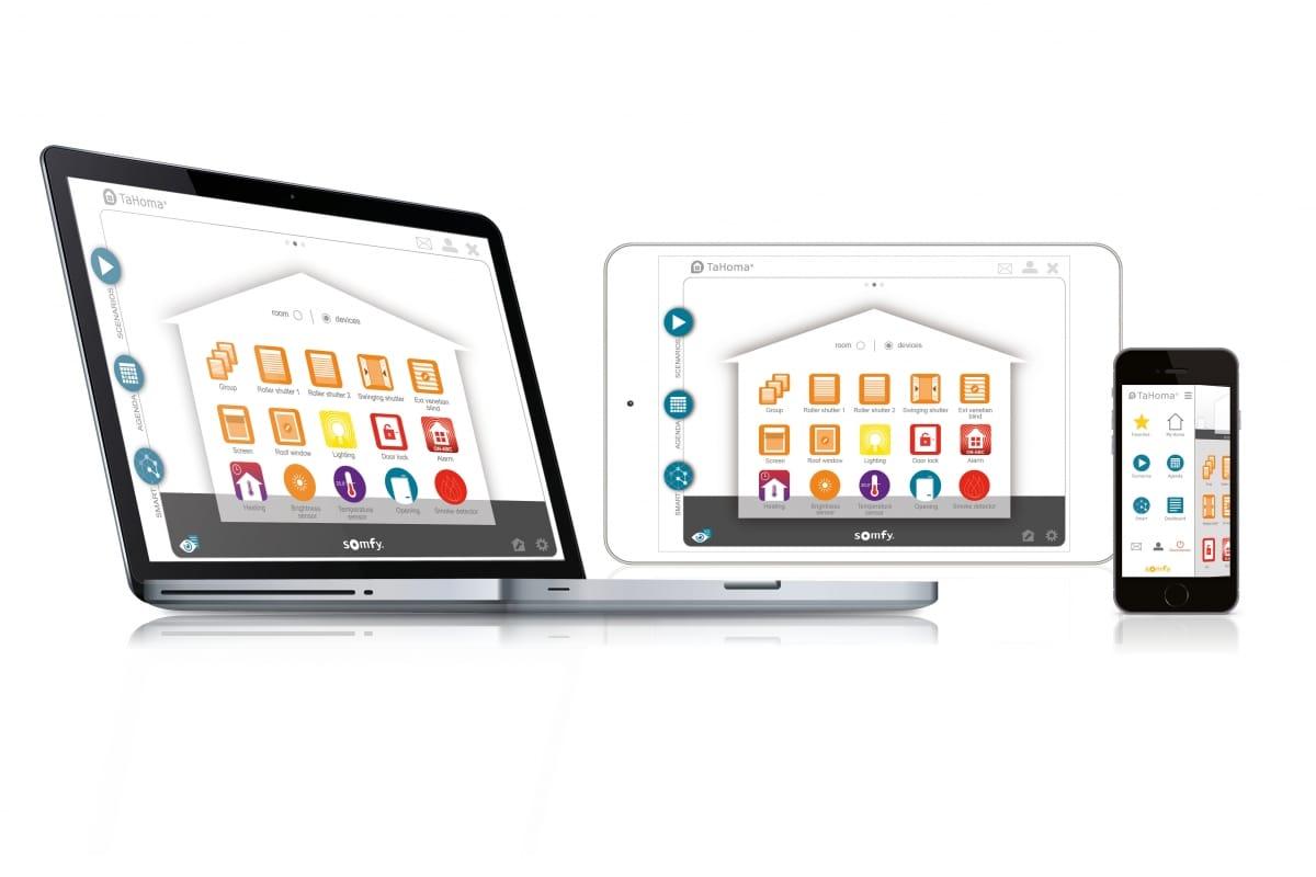 Tahoma | Somfy | Smart Home | Phone | App